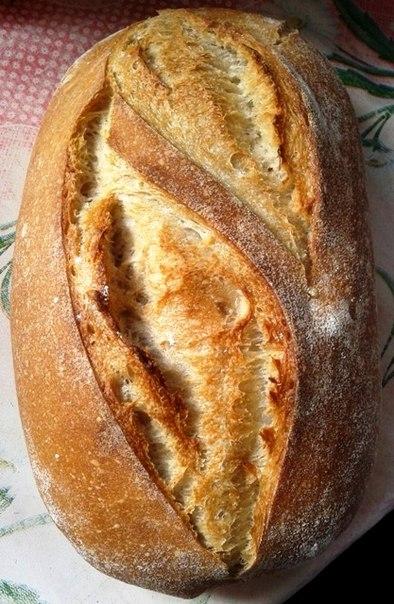 Хлеб с закваской в домашних условиях в духовке