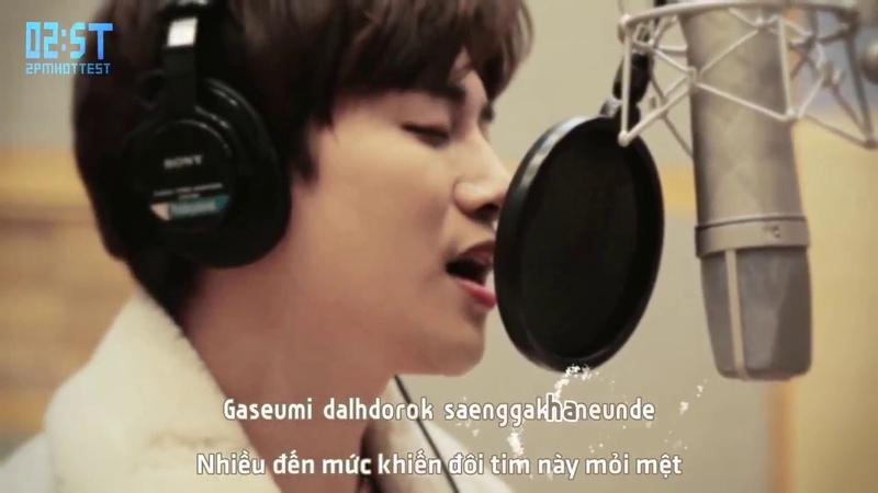 [Vietsub Kara - 2ST] [Making Film] What Words Are Needed - Junho (Just Between Lovers OST)