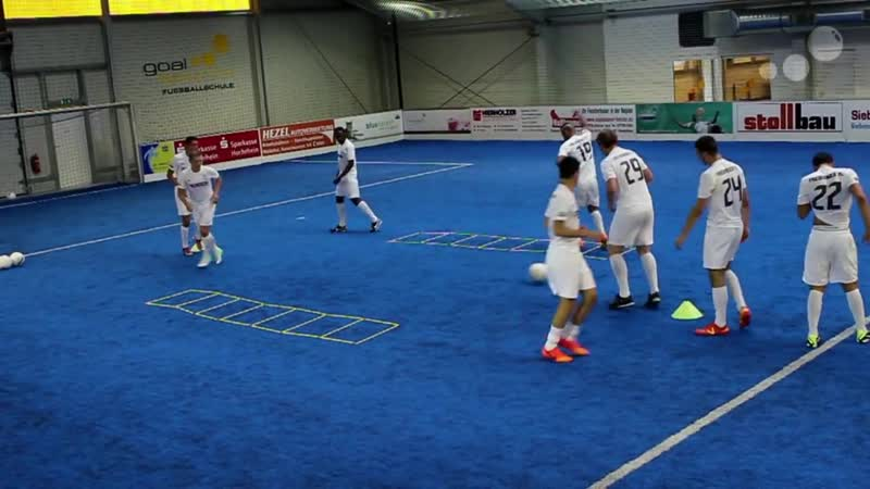 Modern Soccer Training like Jose Mourinho_Pass- and Speedtraining Combined