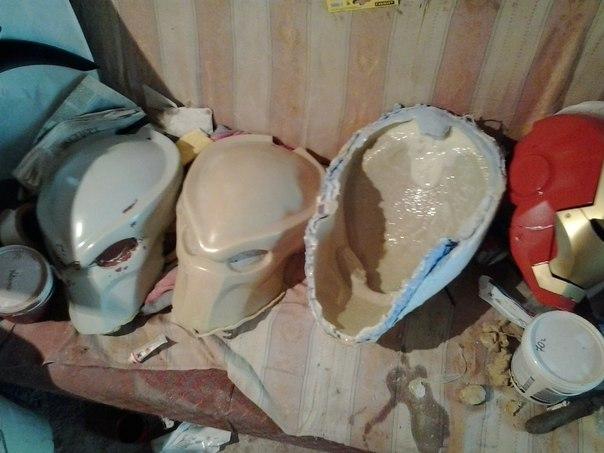Маска шлем своими руками
