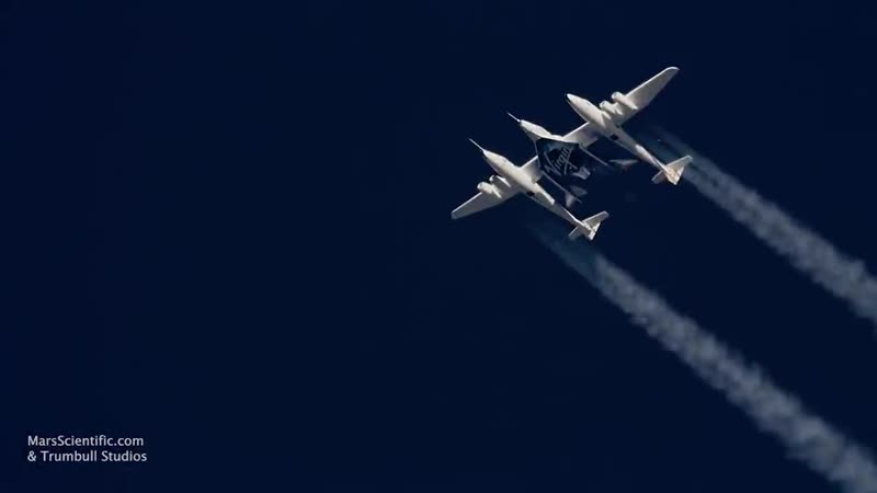 Virgin Galactics VSS Unity Soars Into Space for 1st Time