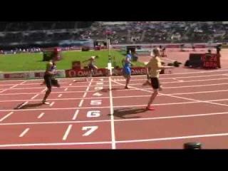 Ужасная травма колена. Бег на 100 метров
