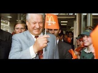 Очередь в первый ресторан «mcdonald's» в ссср. москва, 1990 год
