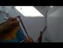 Как можно сделать рамку из пенопластового плинтуса