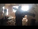'Спарта' ведет бой, аэропорт, Донецк, январь