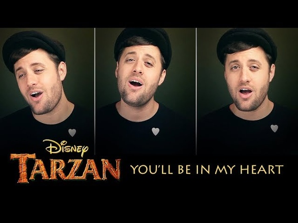 You'll Be In My Heart - Disney's Tarzan - Nick Pitera (cover)