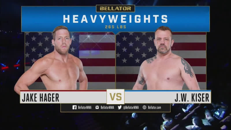 Джейк Хагер дебютировал в ММА на Bellator 214
