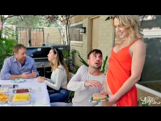 [transangels] kayleigh coxx & mason lear - grilling & drilling [2018 г., shemale, hardcore, bareback, 1080p]