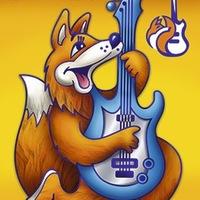 """Логотип Магазин музыкальных инструментов """"Фокстрот"""""""