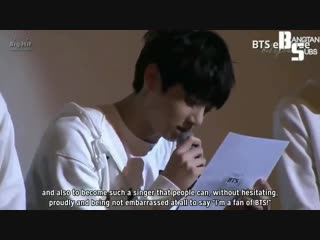 I want to become a singer who can touch people's voice. I want to become a singer whom ARMYs can be proud of. -Jk, 2013 - - He t