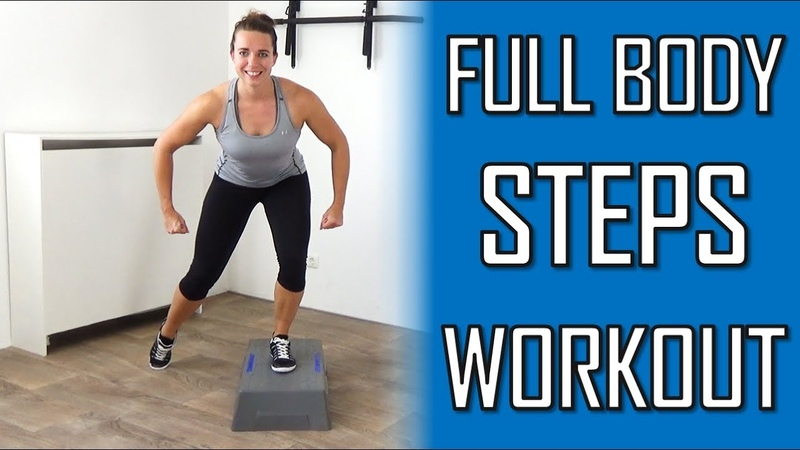 Full Body Steps Workout at Home – Challenging And Strengthening Stepper Workout Routine
