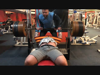 Средняя тренировка 290 кг