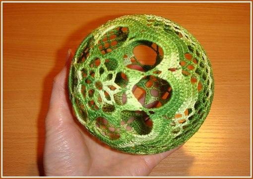 вязаные шары на елку самое интересное в блогах