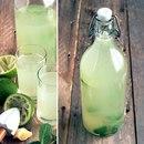 Мятный лимонад, пьем перед едой очень полезно!