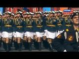 Москва Парад Победы.НАШИ ДЕВУШКИ В СТРОЮ!!! Russia.Girls in the parade.