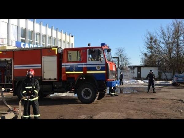 ЧП Беларусь: В Бобруйске саперы проверяли бесхозный черный пакет в РКЦ Первомайского района