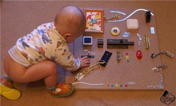 Как сделать игрушки своими руками ребенку 1 года