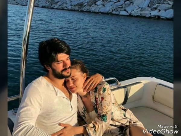 Burak Özçivit,Eşi Fahriye Evcenin Doğum Gününü Romantik Bir Paylaşımla Kutladı!