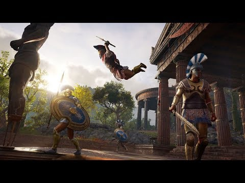 Assassin's Creed Odyssey Тест не Нового Компа32