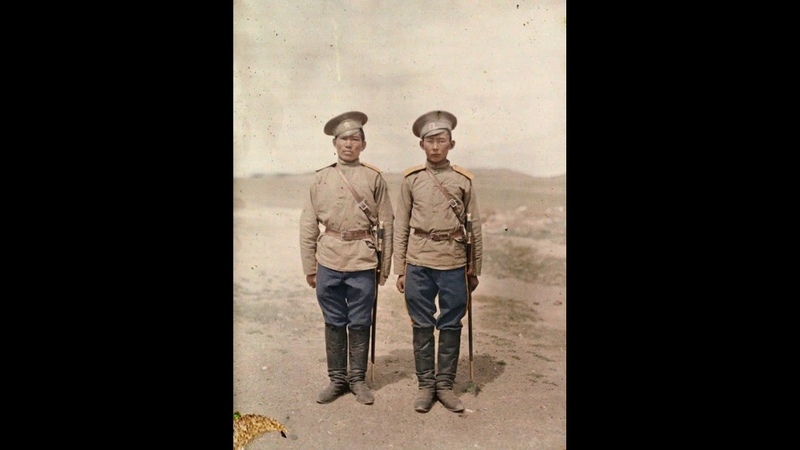 Калмыки в составе российского казачества foto history