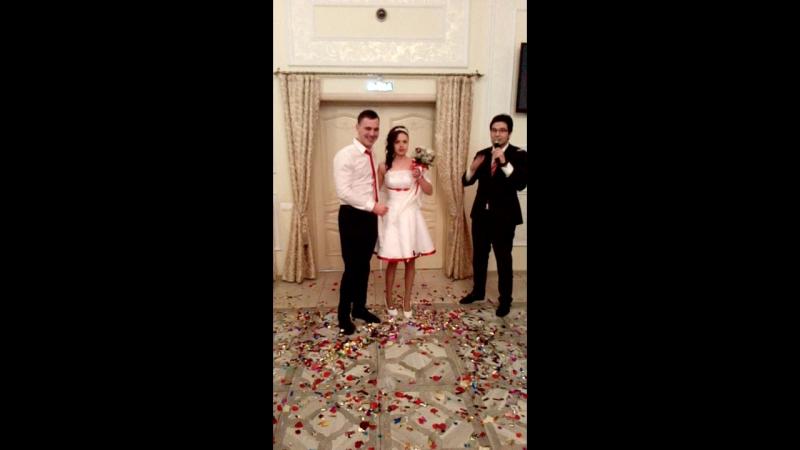 Свадьба Лики с Алексеем.