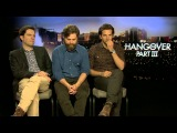 Ed Helms, Bradley Cooper and Zach Galifianakis Interview - The Hangover 3