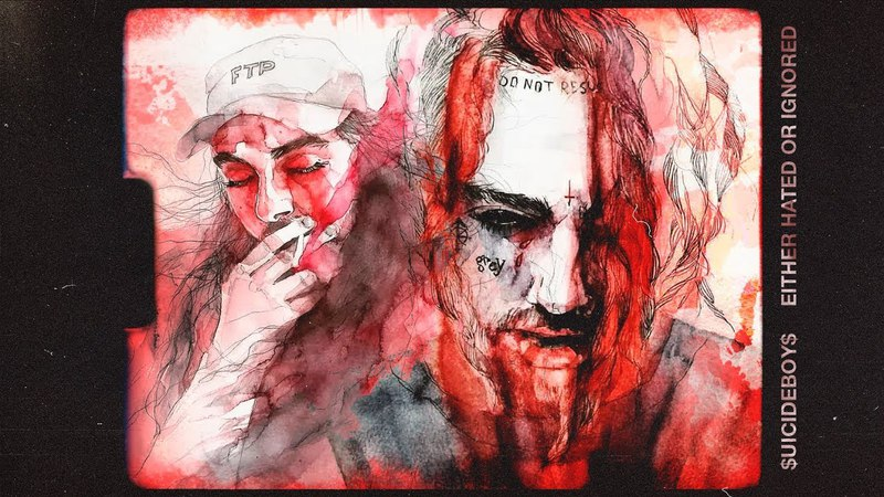 $UICIDEBOY$ - EITHER HATED OR IGNORED ⚔ ПЕРЕВОД ⚔ WITH RUSSIAN SUBS
