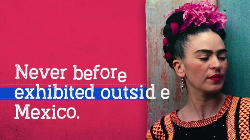 Frida Kahlo Making Her Self Up exhibition trailer