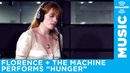 Florence The Machine performs Hunger at the SiriusXM Studios