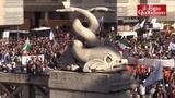 Lega, le immagini di Piazza del Popolo dall'alto. Salvini