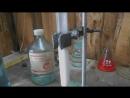 Получение угарного газа из лимонной кислоты