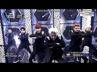140508 M! Countdown - EXO-K - Overdose (중독 / 上癮) (Comeback Stage)