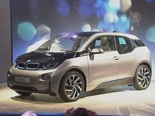 BMW представил первый серийный электромобиль I3 (новости)