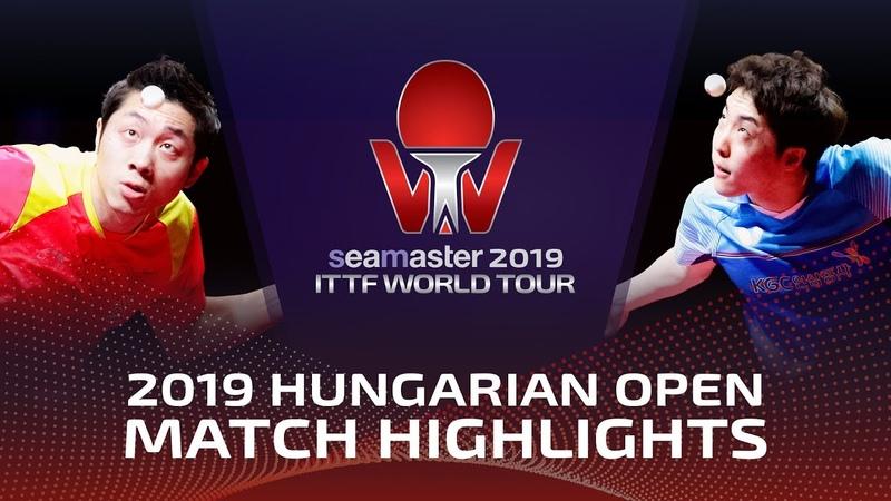 Xu Xin vs Lim Jonghoon   2019 ITTF World Tour Hungarian Open Highlights (14)