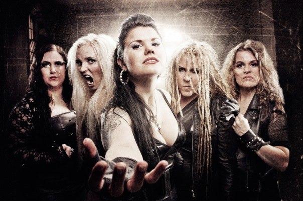 рок группы с женским вокалом слушать онлайн