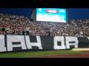 Tm Crew . Partizan - Tottenham 0-0 . 19.09.2014 . Samo napred PARTIZAN Eeeeee Oooooooo
