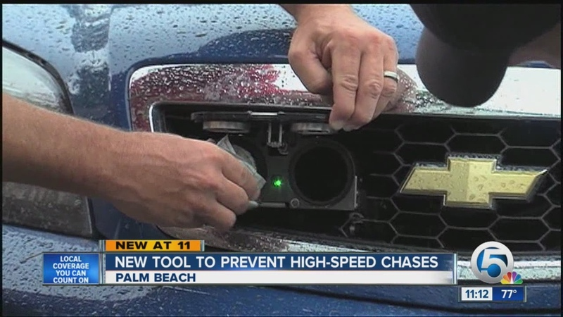 StarChase technology helps Palm Beach Police avoid dangerous pursuits