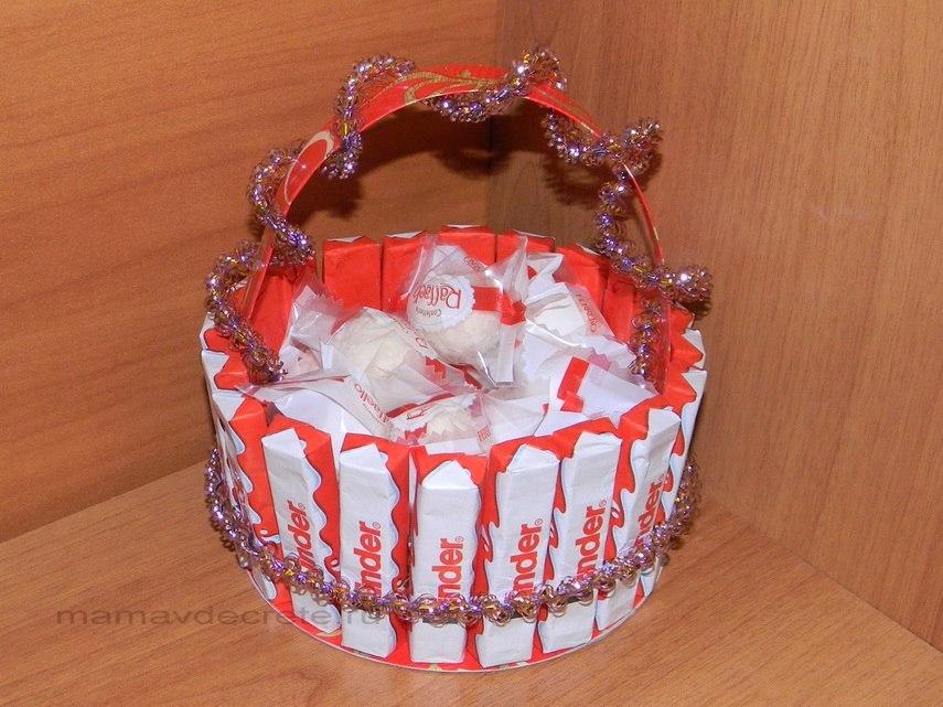 Торт из киндер своими руками мастер класс