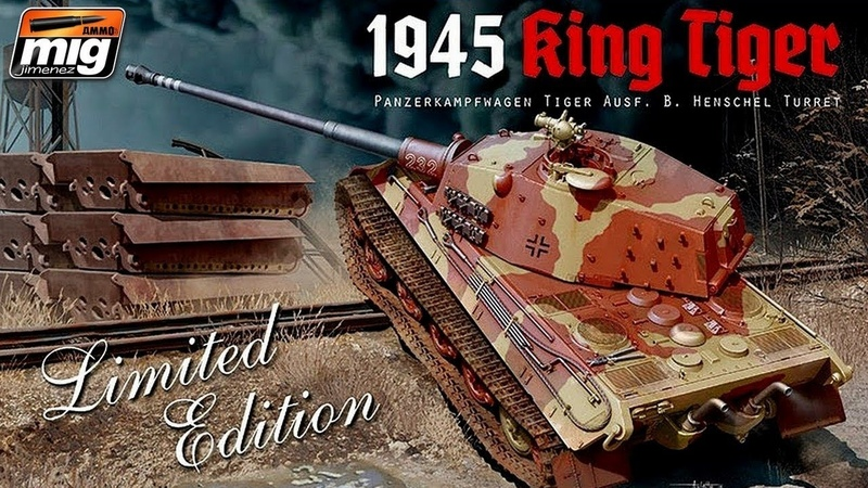 FULL VIDEO BUILD AMMO KING TIGER Ausf B
