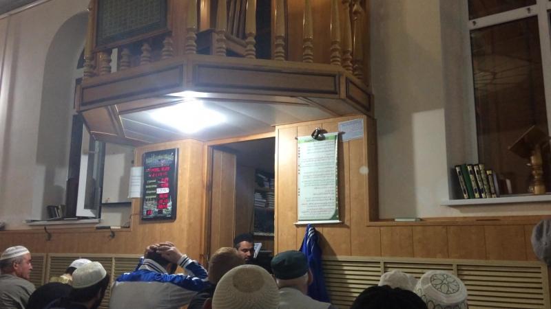 Имам Муслим гьажи Таревих намаз Центральная мечеть 16 05 2018 г