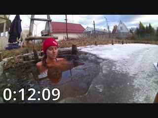 Жительница Одинцовского района провела целый час в проруби