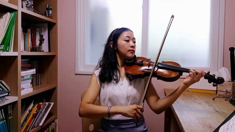 스즈키2권 보케리니 미뉴에트 Suzuki violin 2 Minuet (L.Boccherini) 바이올린 레슨 강사 김민정 연주 초