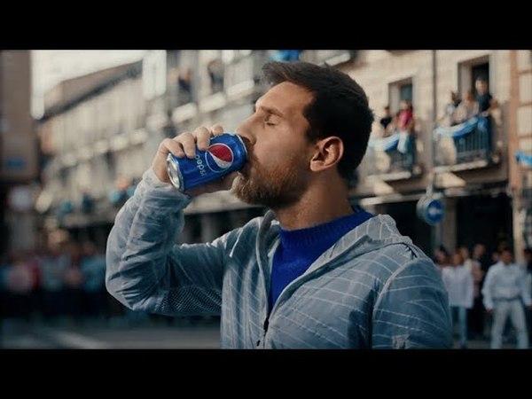 Музыка из рекламы Pepsi (Месси) — Живи игрой (2018)