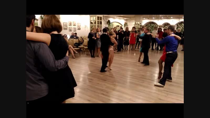 показательное выступление el tango