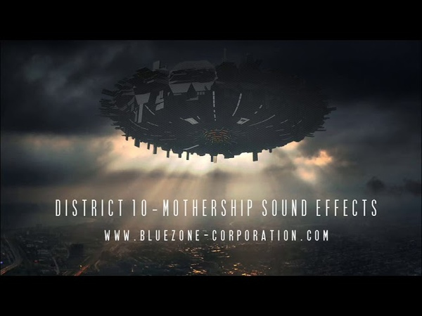 Bluezone Corporation District 10 Mothership Sound Effects - Spacecraft, Hud Interface, Organic Ambiences and More