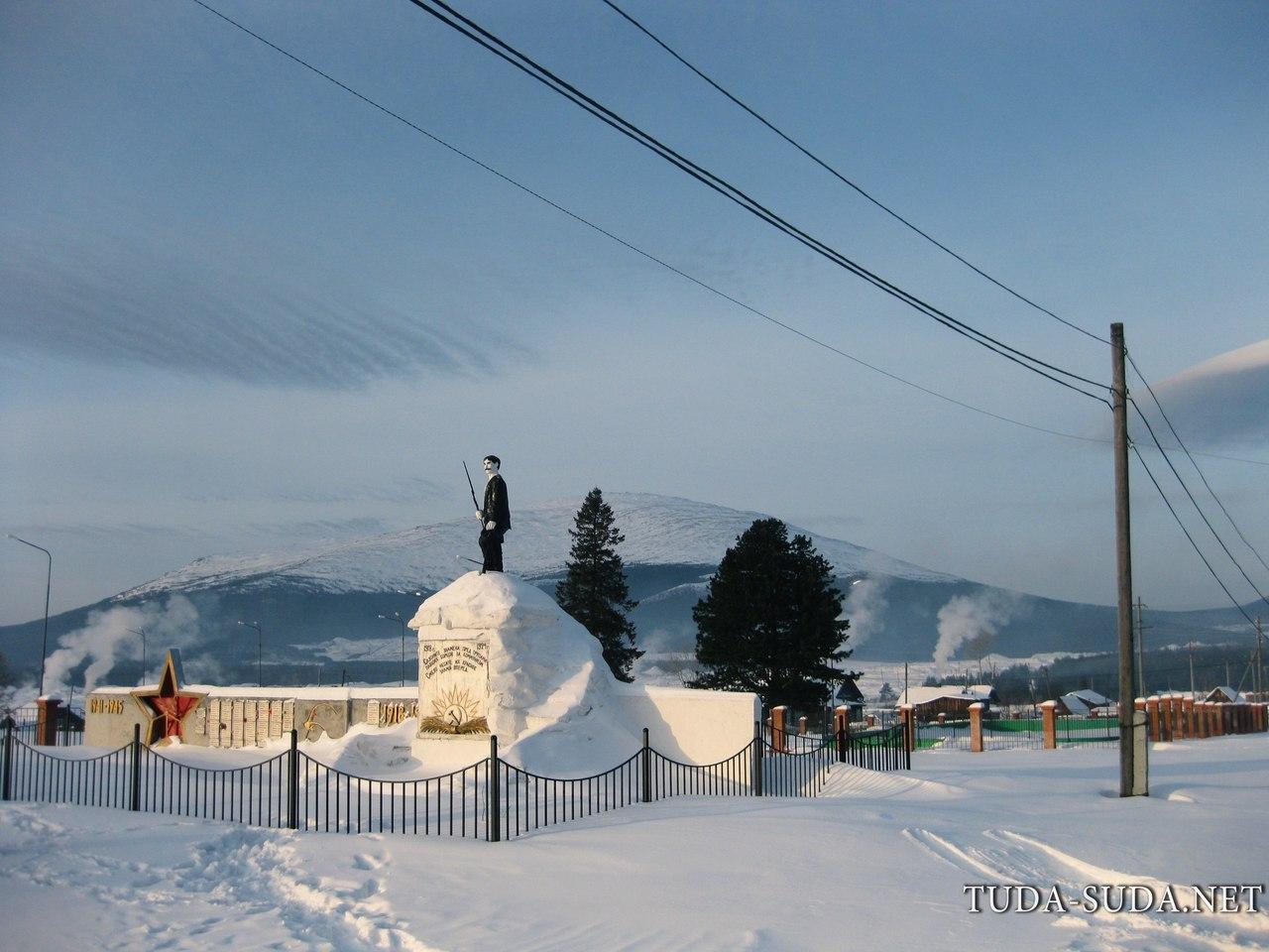 Памятник поселок Кытлым