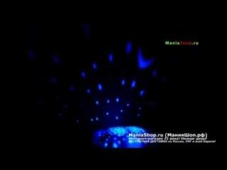 Ночник Проектор Звездная Морская Черепашка с Музыкой
