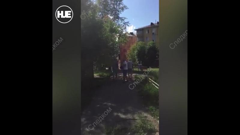 В Красноярске сняли на видео похищение бизнесмена он не смог в срок изготовить мебель
