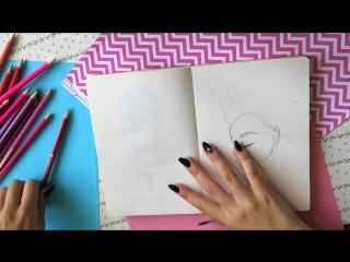 [Maria Ponomaryova] Урок Рисования ✎ КАК НАРИСОВАТЬ ЛИЦО И ВОЛОСЫ? ✎ Основные ошибки ✎ КАК НАУЧИТЬСЯ РИСОВАТЬ