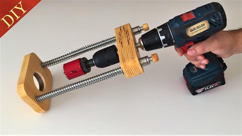 Awesome Homemade Drill Guide El Yapımı Matkap Kılavuzu v2.0